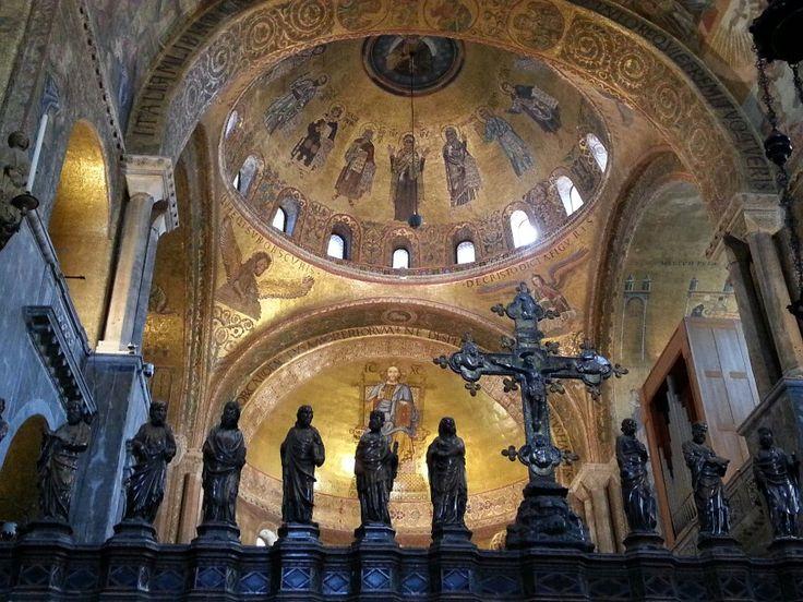Basílica de San Marcos, Venecia.