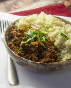 Paleo Ground Beef Korma — Foraged Dish
