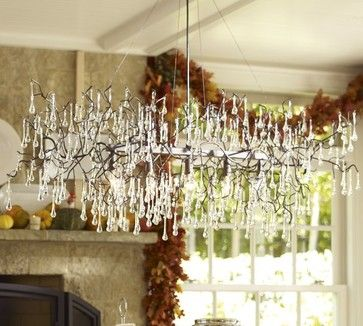 Lucinda Branch Chandelier - eclectic - chandeliers - Pottery Barn