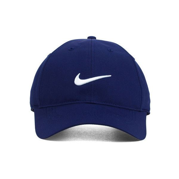 Nike Golf Tech Swoosh Cap ($22) ❤ liked on Polyvore featuring accessories, hats, caps, nike golf, nike golf hats, nike golf cap and cap hats