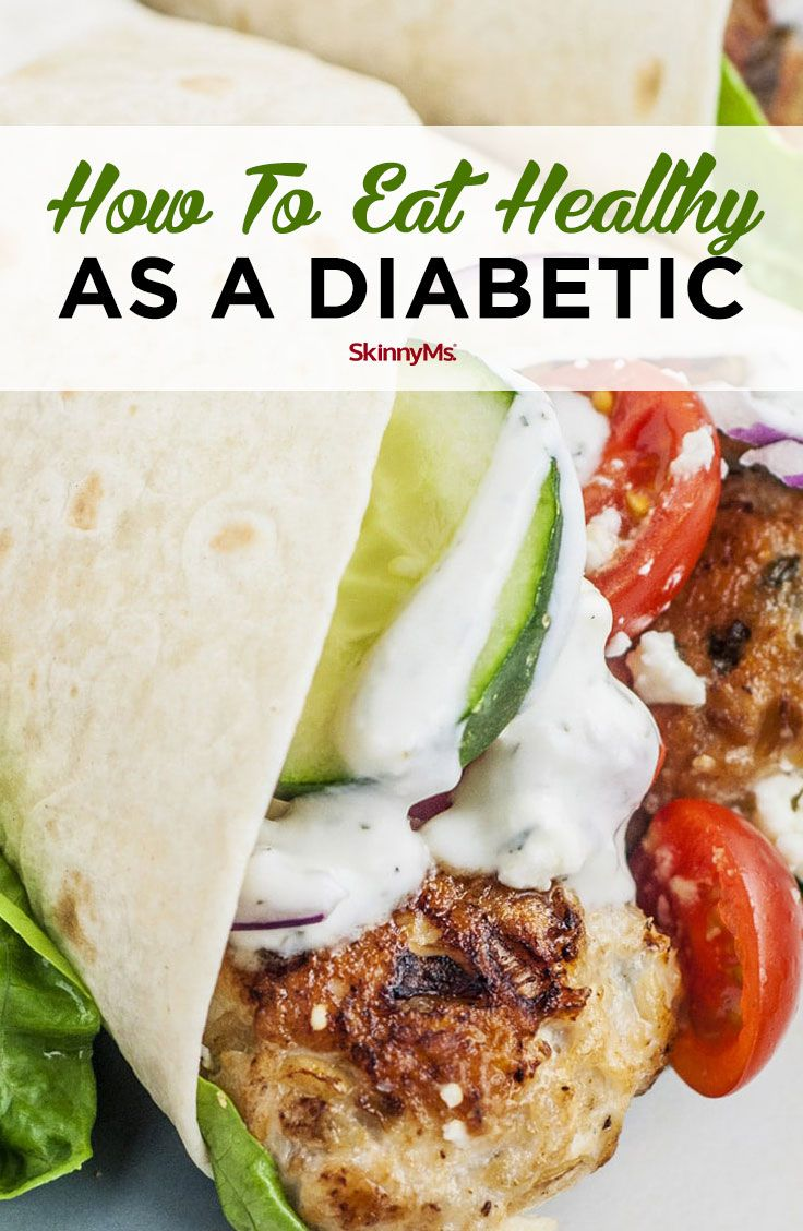 How to Eat Healthy as a Diabetic