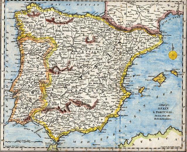 Iberian Peninsula Map  CC2W7