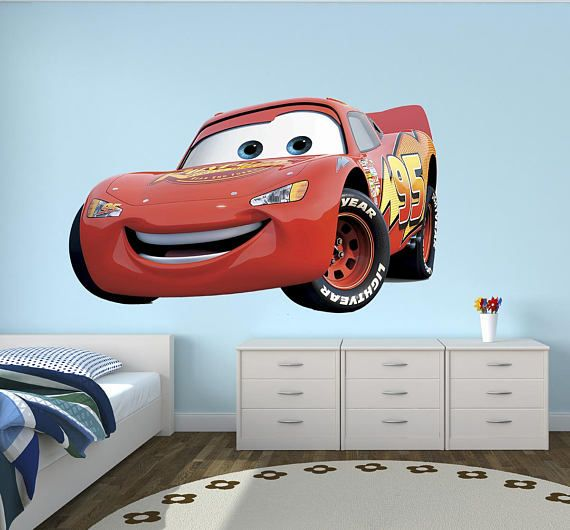 Hey, I Found This Really Awesome Etsy Listing At Https://www. Disney Wall  DecalsVinyl Wall DecalsBedroom KidsLightning McqueenDisney ... Part 95