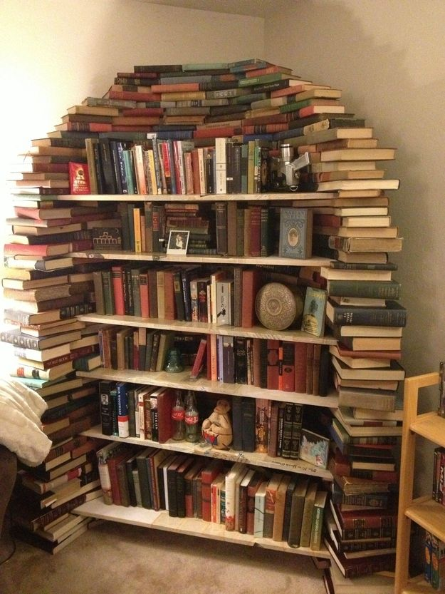 25 best ideas about creative bookshelves on pinterest for Read your bookcase buy