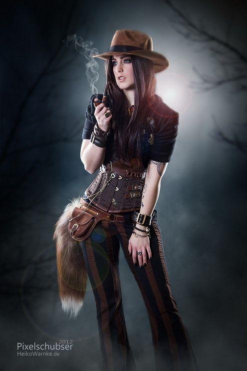 Steampunk Diva