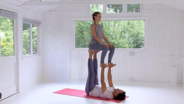 Hard Two People Yoga