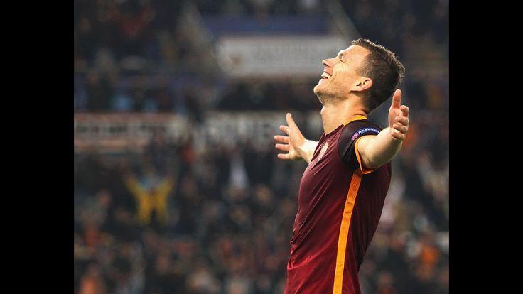 Edin Dzeko 2016/2017 | As Roma | Goals & Skills - ᴴᴰ