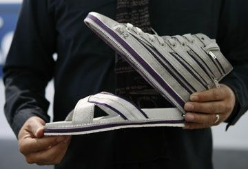 From hightops to flipflops in seconds! | Oddly Enough Blog