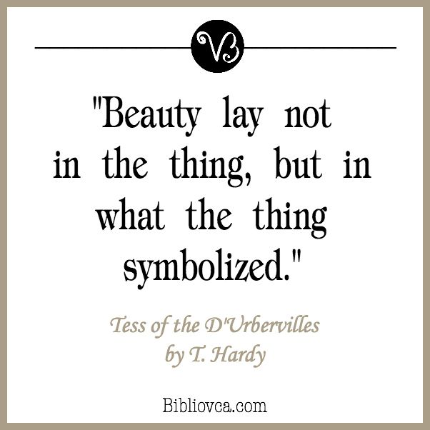 Quote from Tess of the D'Urbervilles by Thomas Hardy