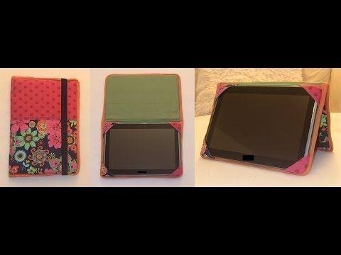 Nähen mit Claudia * Tablet-Hülle für i-Pad oder Kindle http://www.herzblaettchen.at/store