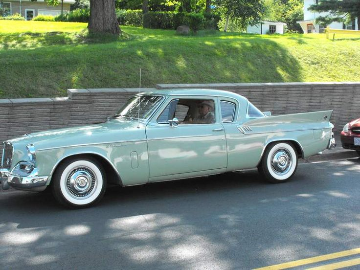 Studebaker Hawk.  I would SO drive this everyday if I could find one as pretty a…
