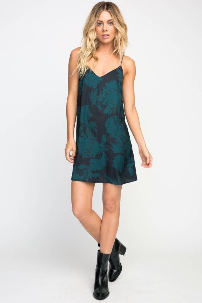 69a162f0daf4 RVCA rvca envy slip dress - mimi  amp  red inc Holiday Party Dresses