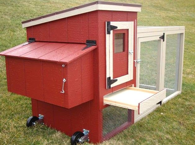 Lovely EZ Fit Miniature Chicken Coop $629 Earth Easy
