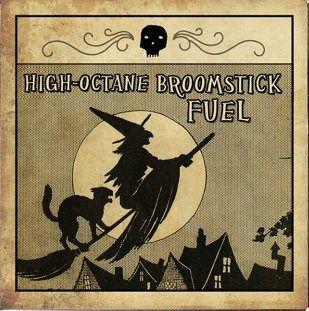 .Perfect Halloween label.