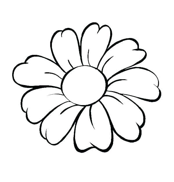 Spring Flowers Coloring Pages Printable Spring Coloring Page Spring Coloring Pag Simple Flower Drawing Flower Pattern Drawing Printable Flower Coloring Pages