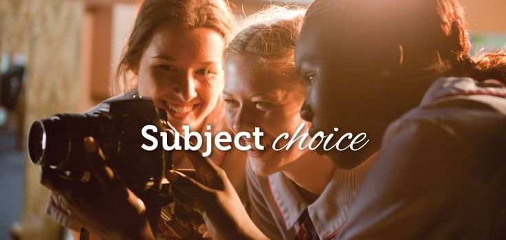 Downlands College I Subject choice