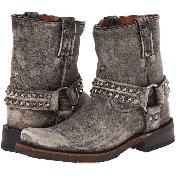Harley-Davidson Katerina Women's Pull-on Boots (£175) ❤ liked on Polyvore