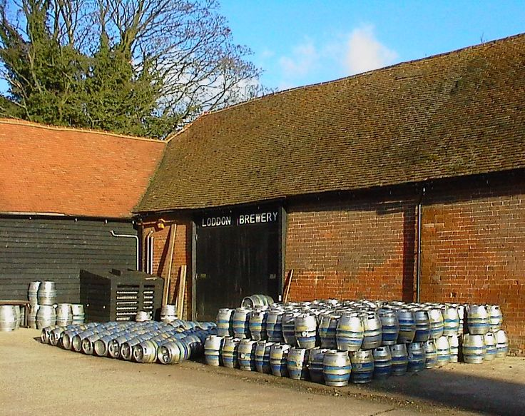 The local beers at The Old Post Office, Wallingford come from our much-loved Loddon Brewery