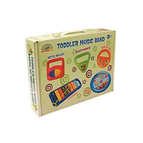 Hohner MS4001 Complete Toddler Band All In One Box - http://bandinstruments.nationalsales.com/hohner-ms4001-complete-toddler-band-all-in-one-box/