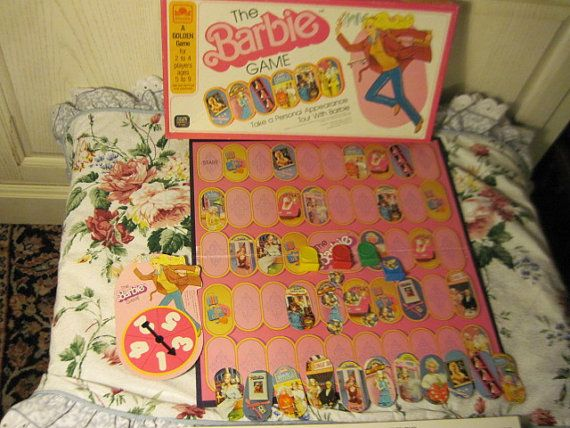 Barbie Game 1980 Take a Personal Appearance Tour With Barbie