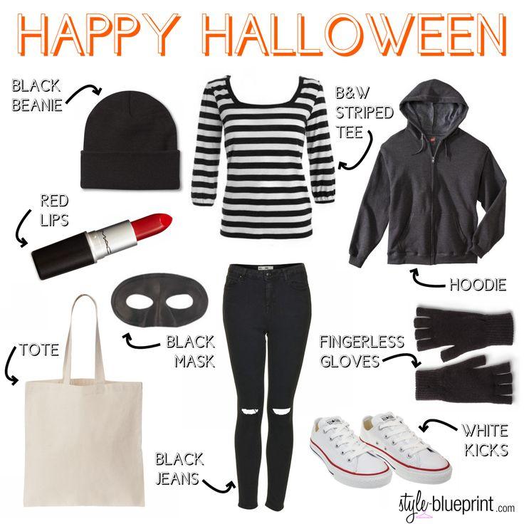 halloween 2014, bank robber costume, bandit costume, robber costume, halloween, inexpensive