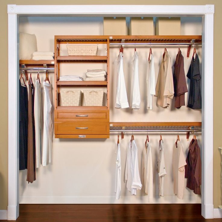 """120""""W Closet System  Nora's closet"""