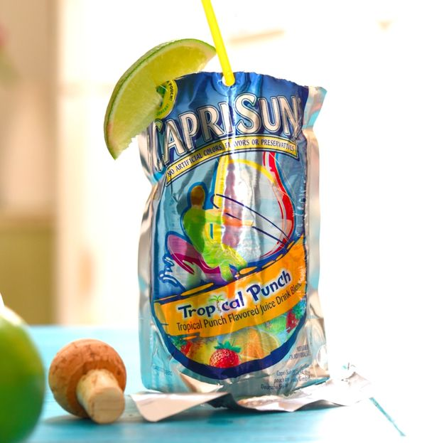 Here's The Boozy Capri Sun Cocktail You Didn't Know You Needed