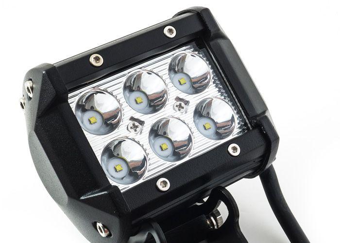 Αδιάβροχος Προβολέας CREE LED 18W 6000K BCA-R3018