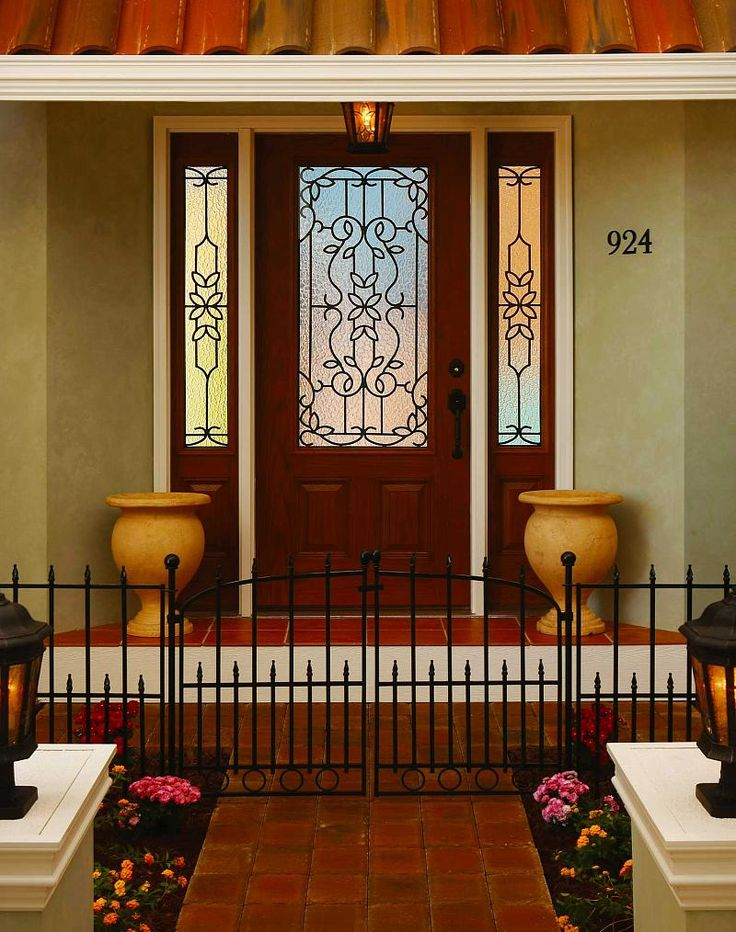 71 best images about front door on pinterest entry doors for Mediterranean interior doors