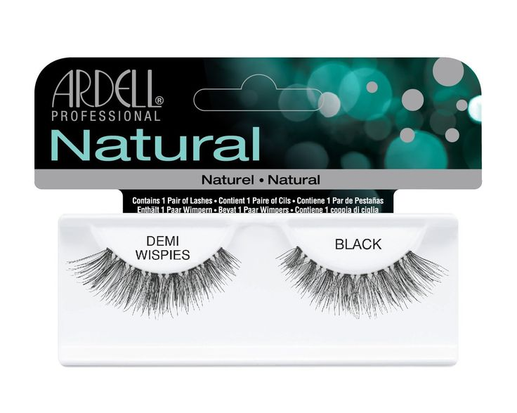 We stock Ardell Invisiband Lashes in Black, including the Demi Wispies style - they're just £3.99 including 1st Class postage! Place your order now.