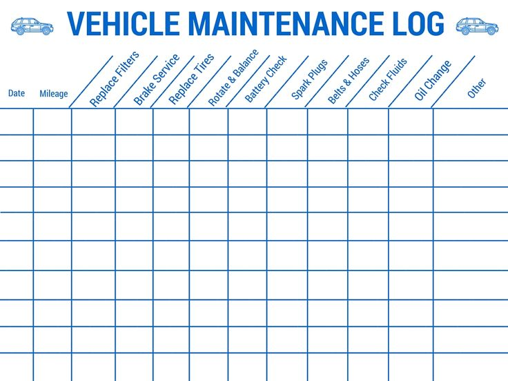 The 25+ best Vehicle maintenance log ideas on Pinterest Auto - what is a mileage log