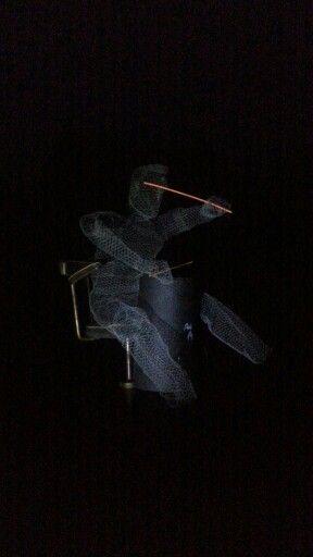 Mt Wire sculpture for Ostrale 2015. Www.ostrale.de