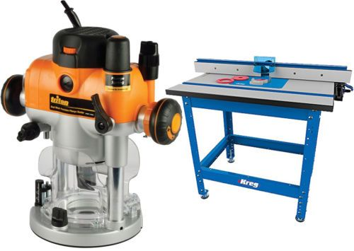 Routers 122829: Kreg Prs1045 Router Table And Triton 2400W 3-1 4Hp Precision Plunge Router Bundle -> BUY IT NOW ONLY: $779 on eBay!
