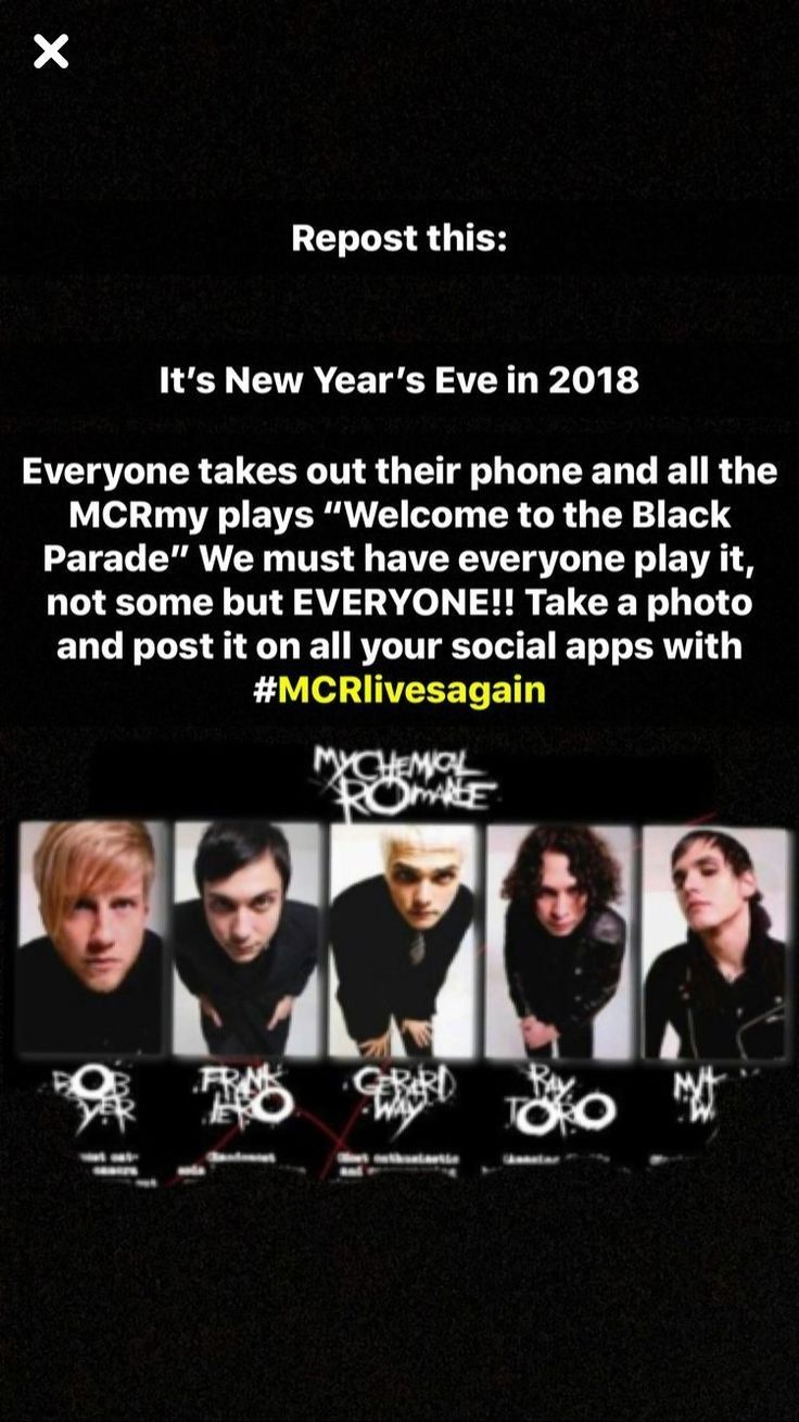 I am going to do this My chemical romance, Band humor