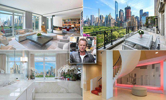 Sting lists Manhattan penthouse for $56 Million