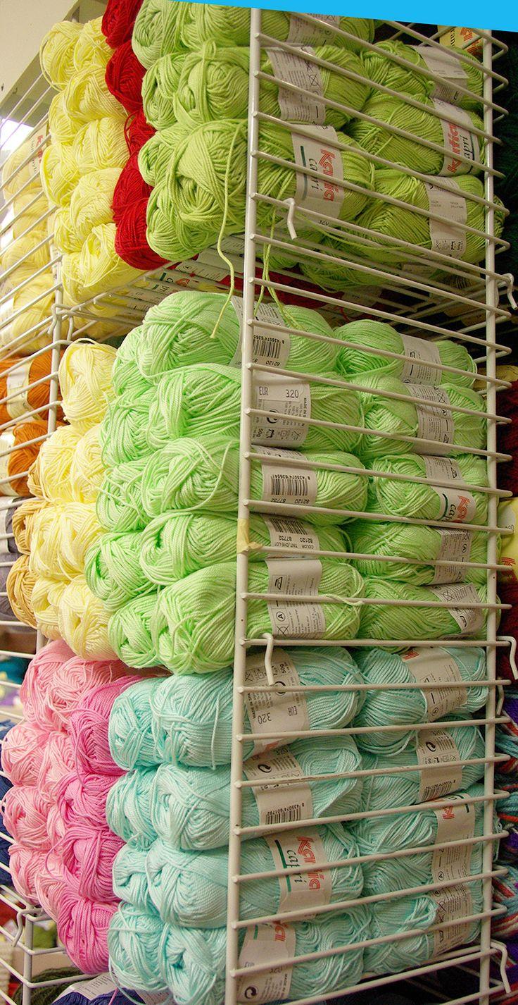 Arrivage de laine 100% coton - superbes qualités