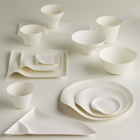 gorgeous minimalist table set