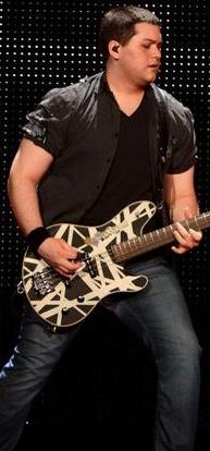 Wolfgang Van Halen - Eddie Van Halen and Valerie Bertineli's son. 2011
