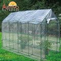 Bike shed.  Cover with clear/ green plastic sheet/ Pallets/ wire for creeper to grow on.  Aestivo Walk-In 3-Tier Greenhouse with Steel Tubing & Clear PVC Cover - 195cm x 290cm Our Price: