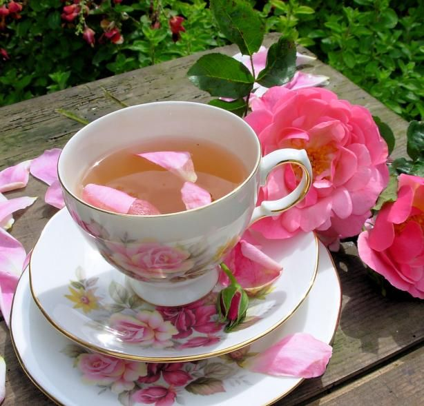 rosey tea pink tea rose recipes tea recipes hearbal teas teacups add ...
