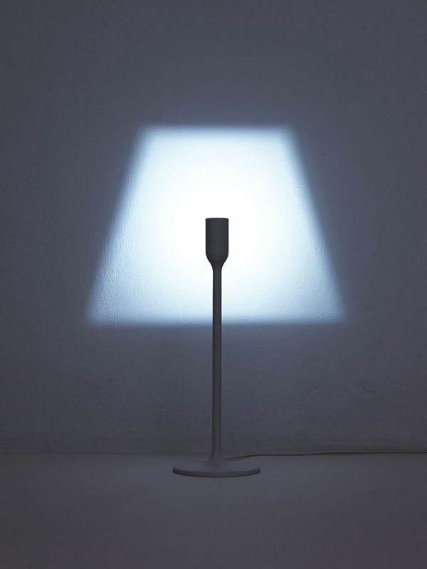 This minimalist lamp is a recent creation of the Japanese studio YOY, who's work we previously featured. The piece, laconically titled Light, is a modern take on an old concept. It breathes new life into a familiar lampshade idea. Thanks to the cleverly s