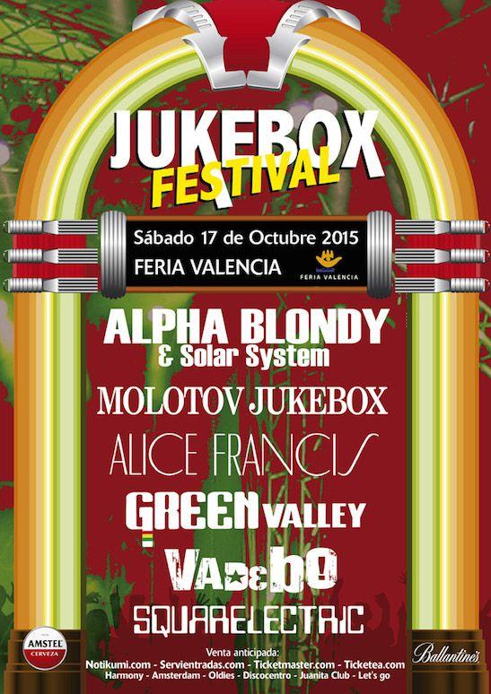 Jukebox Festival, fusión de música reggae, ska, swing y electrónica - http://www.valenciablog.com/jukebox-festival-fusion-de-musica-reggae-ska-swing-y-electronica/