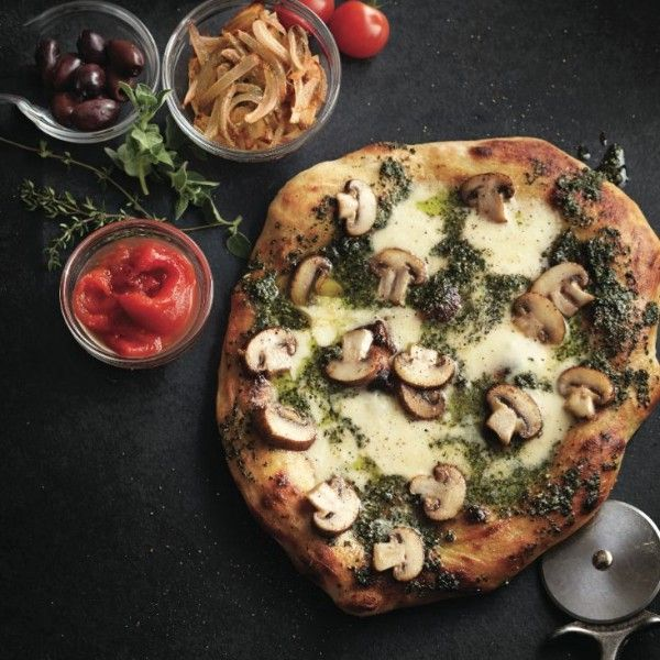 From the classics to the easily grilled and the world-flavoured, these pizza recipes are as delicious as they are easy to make.