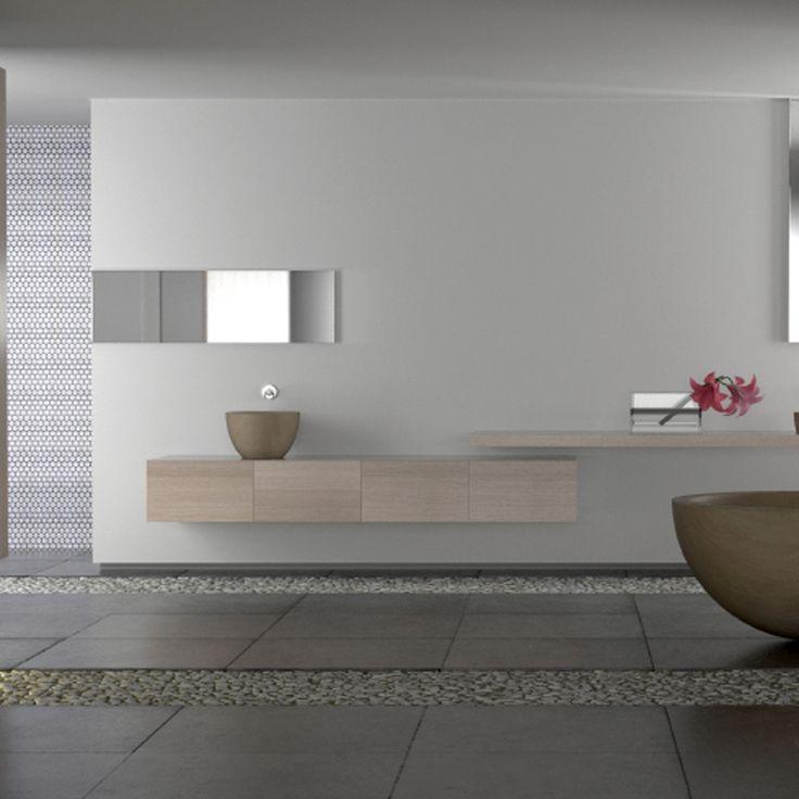 Bathroom Slate Floor Trendy Rustic Hickory Bathroom Vanity Cabinets
