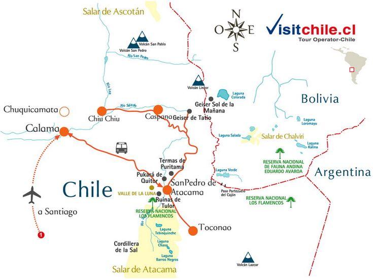 Image result for SAN pedro de atacama CHILE UBICACION