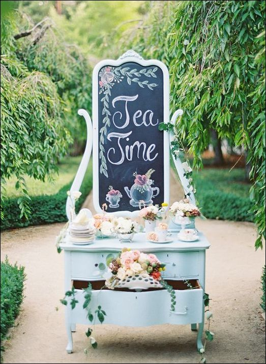 This makes me want to host a tea party!