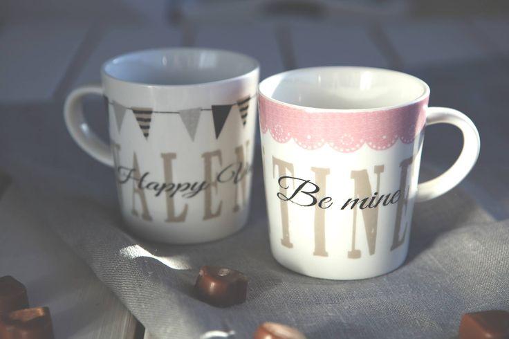Valentine-mukit // Valentine mugs