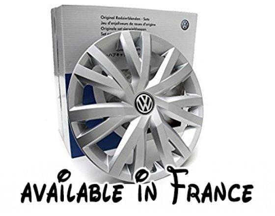 Original Volkswagen VW Pièces VW Enjoliveurs (Golf 7 VII) 16 Pouces Enjoliveur de roue, original VW Zubehör. 4 pièces #Automotive Parts and Accessories #AUTO_ACCESSORY