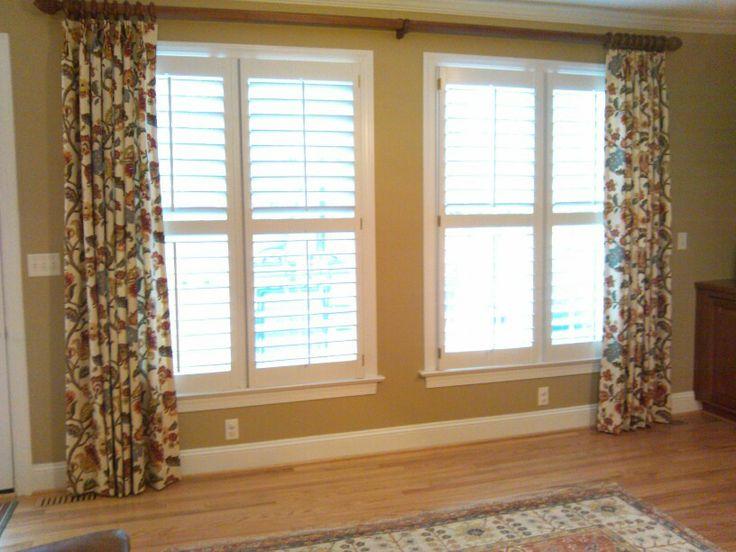 Large Window Dressing Window Treatments Pinterest