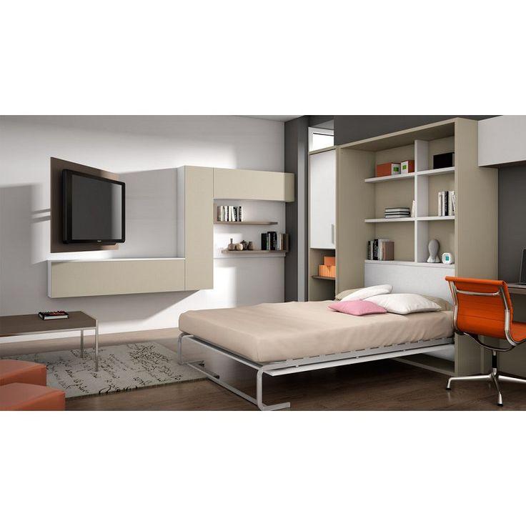 Mejores 22 im genes de camas abatibles con sof s en for Camas divan juveniles